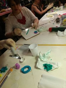 Polymer Clay OMG Florence and Sara Amrhein